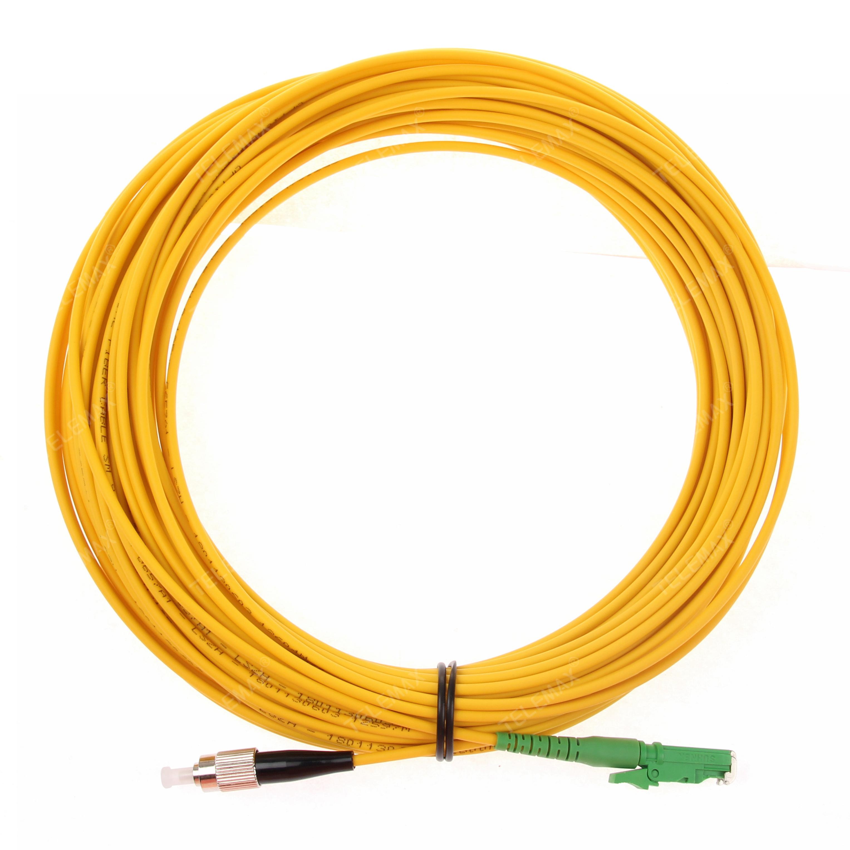 Fiber patch cord E2000/APC - FC/APC G657a1 LSZH Simplex 1/2/3......meters