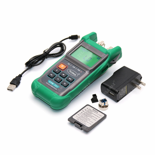 Integrated of Optical Power Meter and Visual Fault Locator - KPM-35V