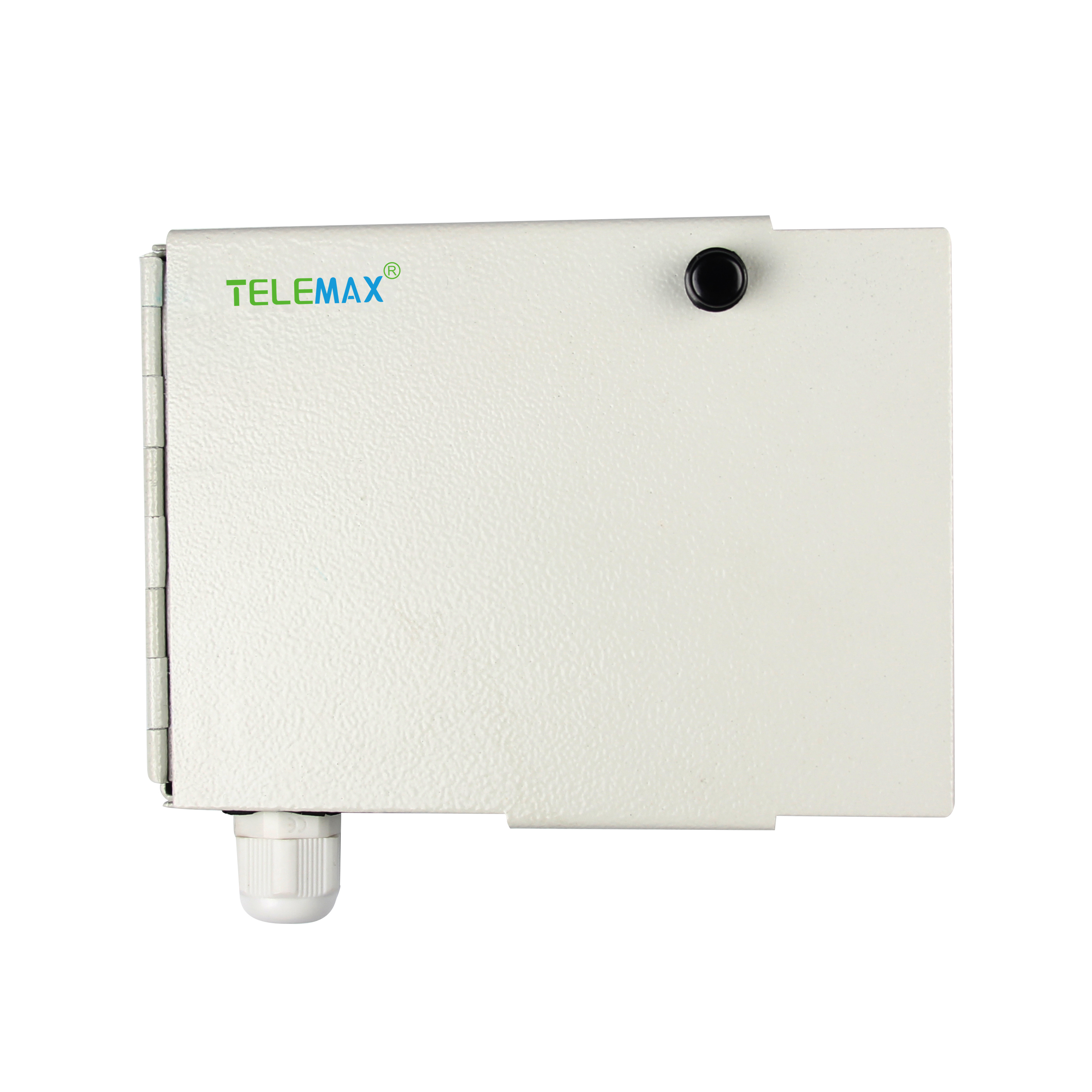 4 Ports FTTH Terminal Box SPCC Material RAL7035 Grey color