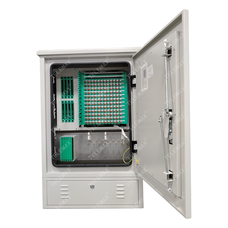 Optical Fiber Cross Cabinet Outdoor 144 Core 1024*680*350mm, SPCC / Stainless Steel
