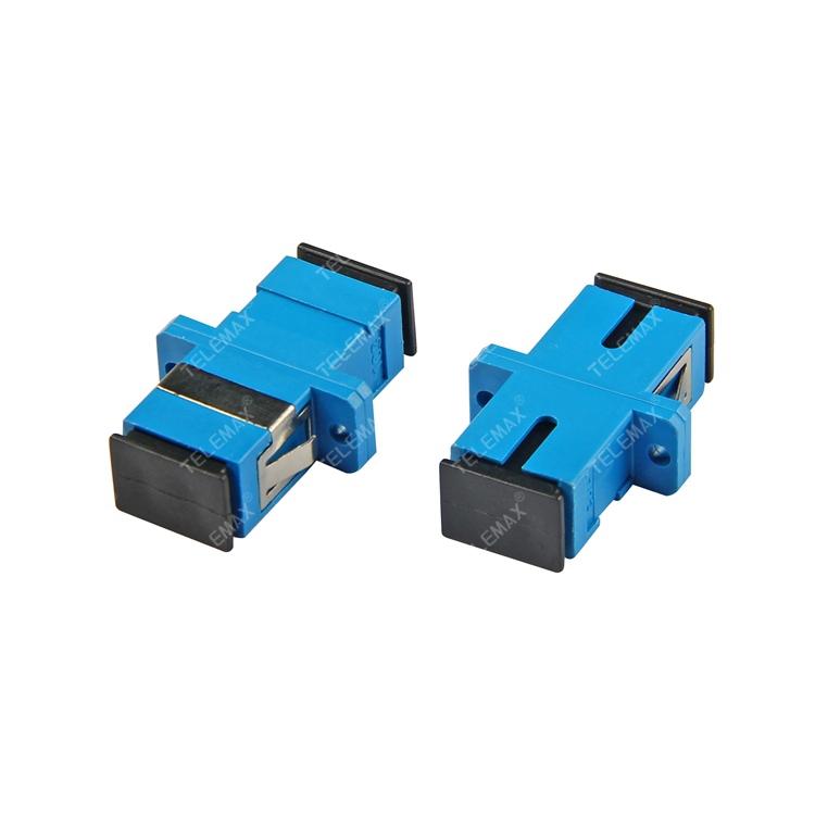Optical Fiber Adapter SC/PC Single Mode 9/125 Simplex