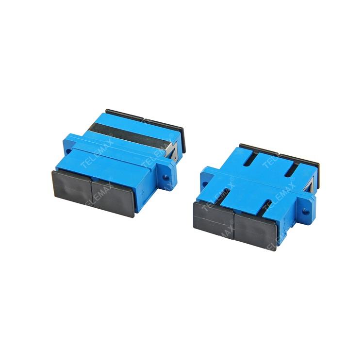 Optical Fiber Adapter SC/PC Single Mode 9/125 Duplex