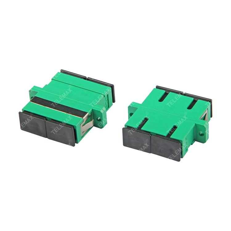 Optical Fiber Adapter SC/APC Single Mode 9/125 Duplex